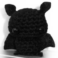 If amassing a small army of amigurumi bats is wrong, I don't want to be right